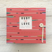 Coral Arrows Baby Memory Book - Ruby Love 1st Year Baby Book