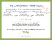 Tessera Baby Books Baby Memory Book Insert Pack, About Baby's Grandparents