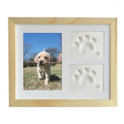 Baby Hand & Footprint Picture Frame Kit for Boys and Girls Toddlers Birthday Presents
