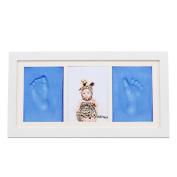 Babyprints Newborn Baby Handprint and Footprint Photo Frame Kit