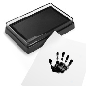 Baby Safe Print Ink Pad, Non-Toxic Baby Footprint and Handprint Kit, Keepsake Gifts to Cherish Baby's Memories, Multiple Uses