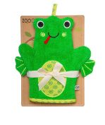 ZOOCCHINI Flippy the Frog Bath Mitt