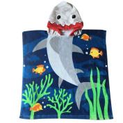 Child 100% Cotton Hooded Towel 60cm x 120cm