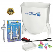 Aquaus SprayMate & Aquaus 360 Premium Nappy Sprayer for Toilet Bundle