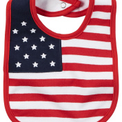 Carters 4th Of July Flag Bib Red