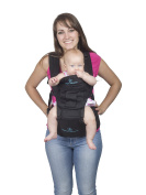 BEST ERGO BABY CARRIER with HIP SEAT for Smart Moms, Top Performance Adjustable Sling, 5 Comfortable & Safe Positions for Infant & Toddlers, Perfect for Shopping, Amazing Gift for Showers & Holidays!