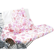 Lightweight Shopping Cart Covers & High Chiar Cover for Baby by Kinds of Mind