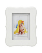 Concepts Baby White Scalloped Picture Frame 13cm x 18cm