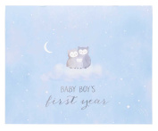 C.R. Gibson Baby's First Year Calendar, By Carter's Stickers Provided, Measures 28cm x 46cm - Wish Upon A Star