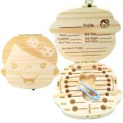 PAMBO Tooth Fairy Box Keepsake For Boys & Girls   Great Baby Shower Gift