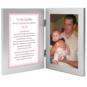 Baby Girl Gift for Daddy on Their First Father's Day Together - Add Photo