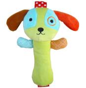 1 PCs 0-3 Year Baby Kids Cute Cartoon Animal Plush Rattles Hand Bells BB Sound Educational Funny Toys Gift for Newborn