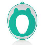 Potty Training Seat Toddler Toilet Seat for Boys & Girls | Baby Potty Ring Secure Non-Slip Surface | FREE Storage Hooks, Medals and Potty Training eBook . Birthday Gift