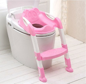 Children Potty Toilet Training Seat Toddler Baby Step Up Training StoolChair With Ladder