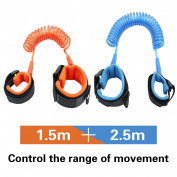 JINSEY Safety Child Anti Lost Wrist Link Harness Strap Rope Leash Walking Hand Belt