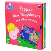 Peppa Pig Peppa's New Neighbours and other stories 5 books Boxed Set