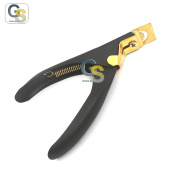 G.S GOLD TIP SALON ARTIFICIAL NAIL CLIPPER ACRYLIC GEL UV FALSE NAIL CUTTER NIPPER BEST QUALITY