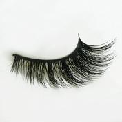 Yuoioyu 3D False Eyelashes Handmade Cotton Stems Fake Eyelashes Stage Smoked Makeup Lashes Tool …