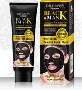 Best blackhead remover mask- Essy beauty-cleansing peel off mask collagen & Charcoal Mask