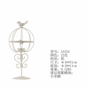 American village of small cage-iron art nouveau chandeliers with part/modern home living room dining bar creative decorations ,16*31cm