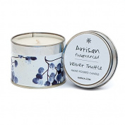 Kapula Hand Poured Scented Tin Candle - Velvet Truffle