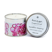 Kapula Hand Poured Scented Tin Candle - Morello Cherry