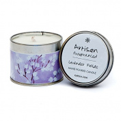 Kapula Hand Poured Scented Tin Candle - Lavender Fields