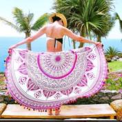 Mchoice Beach Cover Up Bikini Boho Summer Dress Swimwear Bathing Suit Kimono Tunic