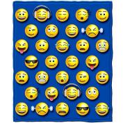 Emoji Fleece Throw Blanket