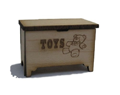 Dollhouse Miniature Toy Box Kit #ME0300