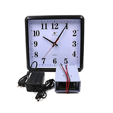 Escape Room Prop,Clock Props with Controller Set Right Time to Unlocking Control 12V EM Lock