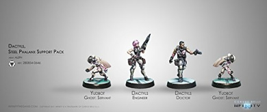 Dactyls Steel Phalanx Support Pack