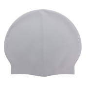 SCASTOE 1pcs Adult Silicone Waterproof Swimming Cap, Sports Bathing Elastic Ear Protection Hat