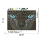 OHTOP 5D Cat Diamond Embroidery Painting Cross Stitch Art Craft DIY Home Decoration