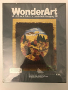 Wonderart 4904 Autumn Cameo Stitch 'n Latch Wall Hanging Kit