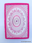 Worldoftextile Diary Journal Notebook Handcrafted With Unlined Eco-Friendly Pages