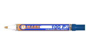 Blue Valve Action Metal Paint Marker U-Mark, Made In USA