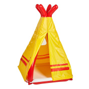 Major Play Kids Inflatable Teepee Pop Up Tent - Your Children Will Love This Durable Indoor/Outdoor Playhouse Toy