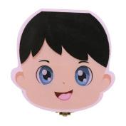 Tooth Box Organiser, QuickGrowth baby Milk Teeth Storage Box Wood for Kids Boy Girl