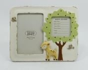 Snow Courage Baby Deer 10cm x 15cm Photograph Two Openings Photo Frame