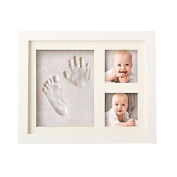 Baby Hand Footprint Kit Easy-to-Use Quick Convenient Excellent Gift Premium Quality Memoir Keepsake. INCLUDE