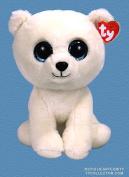 "Ty Classic Beanies ARCTIC the White Polar Bear 25 cm Medium Buddy Size 9"""