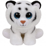 "Ty Classic Beanies Tundra the white tiger 25cm Medium Buddy Size 9"""