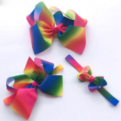 Colourful bow Children colour hair band