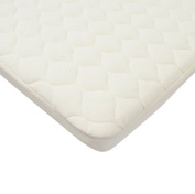 American Baby Company Fitted Organic Bassinet Quilted Pad & Mattress Pad Cover