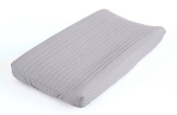 Balboa Baby Collection Changing Pad Cover - Grey & White Dot