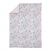 DwellStudio Arden Butterfly Print Comforter, Violet/Pink/Grey