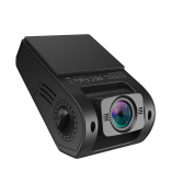 VAVA Dash Cam with 1080P 30fps 160 Degrees Wide Angle Lens, WDR, Loop Recording - Dual USB Port Charger Included