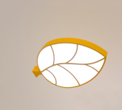 QiangDa LED Iron new clothing creative romantic leaves office Kids Room Ceiling Creative lamps