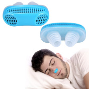 Anti Snoring Devices, Snore Stopper Air Cleaning Breathing Device Nose Clip Sleeping Equipment Defence Nose Nasal Filters